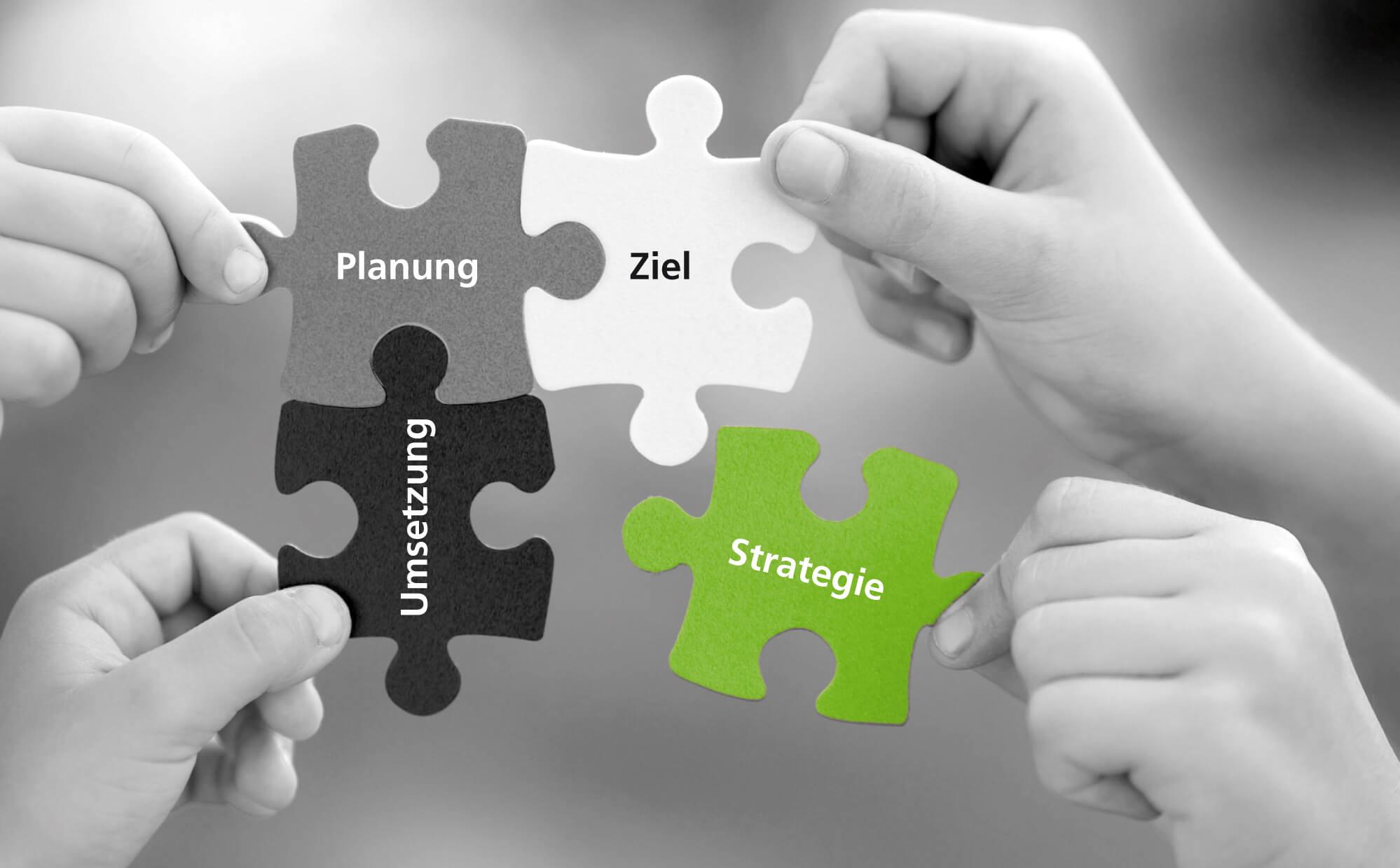 Strategie – Planung – Umsetzung – Ziel